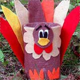 felt turkey craft Turkey Crafts for Kids