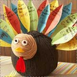 gratitude turkey craft Turkey Crafts for Kids