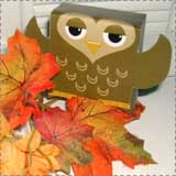 owl printable paper crafts Animal Crafts for Fall: Owl Crafts