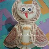 paper plate owls Animal Crafts for Fall: Owl Crafts