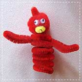 bird finger puppets 20 Animal Crafts for Kids