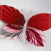 paper butterflies 20 Animal Crafts for Kids