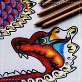 paper dragons 20 Animal Crafts for Kids