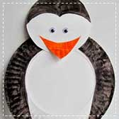 paper plate penguins 20 Animal Crafts for Kids