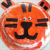 paper plate tigers 20 Animal Crafts for Kids