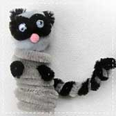 pipe cleaner animals 20 Animal Crafts for Kids