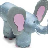recycled elephants 20 Animal Crafts for Kids