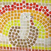 turkey mosaic 20 Animal Crafts for Kids