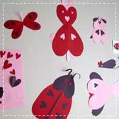 valentine animals 20 Animal Crafts for Kids